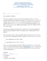 Zippel Title I Parent LEtter